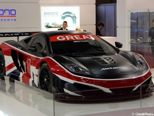 Mondial de l'Automobile 2012, McLaren