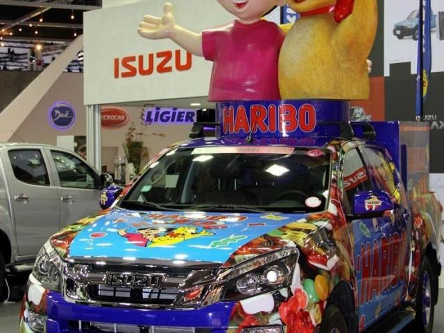 Mondial de l'Automobile 2012, Isuzu Haribo