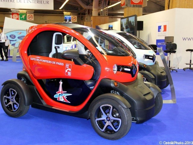 Mondial de l'Automobile 2012, Twizy Renault – Pompier