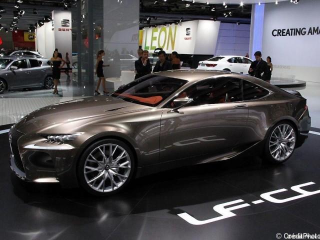 Mondial de l'Automobile 2012, Lexus LF-CC Concept