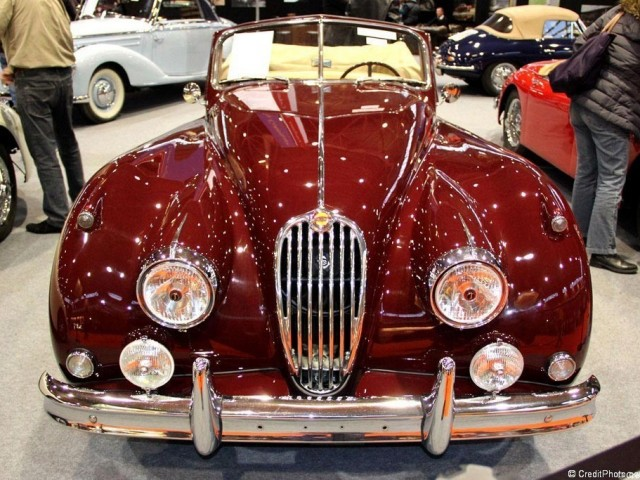 Jaguar XK 140 Roadster de 1956