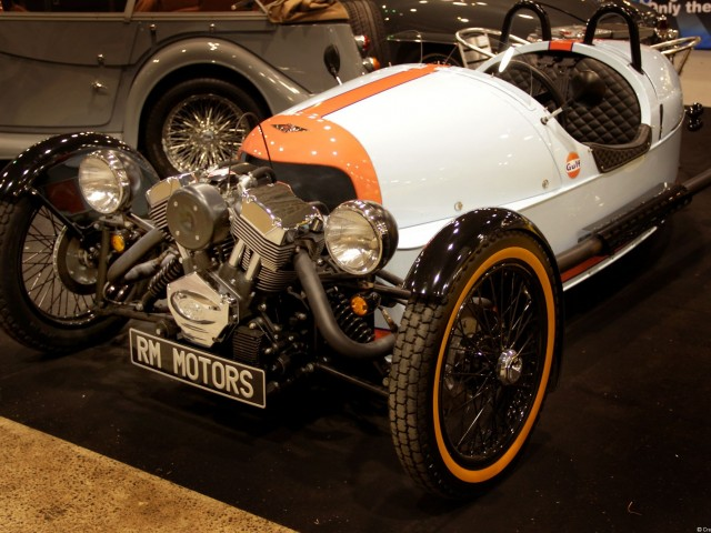 Morgan three Wheeler Gulf