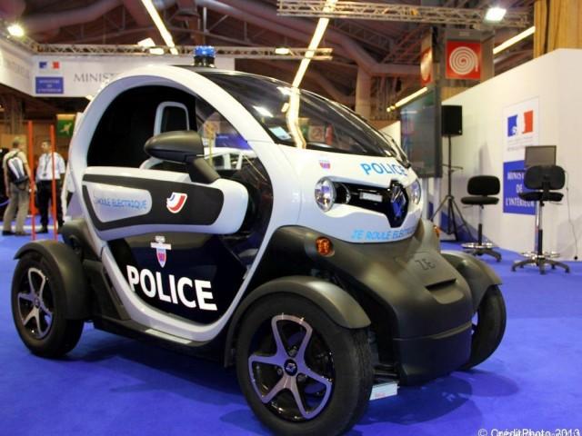 Mondial de l'Automobile 2012, Twizy Renault – Police