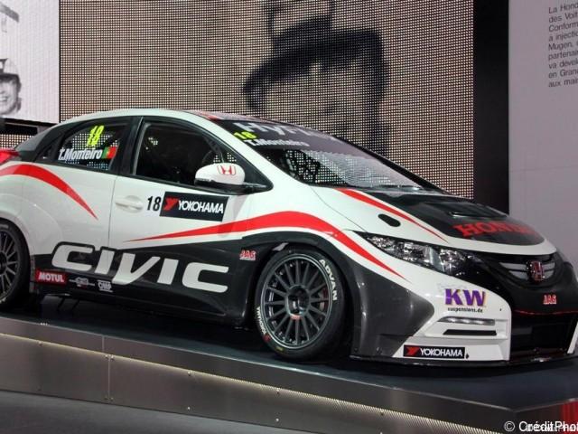 Mondial de l'Automobile 2012, Honda Civic Racing