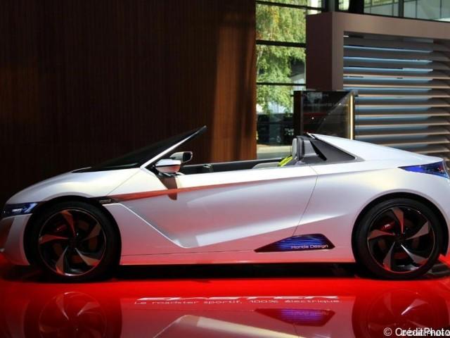 Mondial de l'Automobile 2012, Honda EV-STER