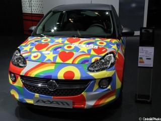 Mondial de l'Automobile 2012,  Vauxhall Adam Peter Blake
