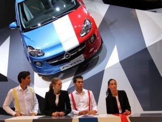 Mondial de l'Automobile 2012,  Opel Adam