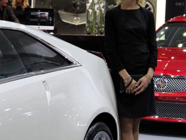Mondial de l'Automobile 2012 – Hôtesse
