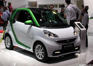 Mondial de l'Automobile 2012, Smart Elecrique