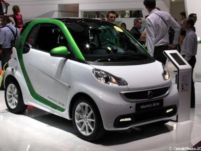 Mondial de l'Automobile 2012, Smart Elecrique