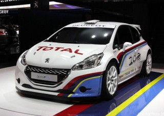 Mondial de l'Automobile 2012, Peugeot 208 Racing