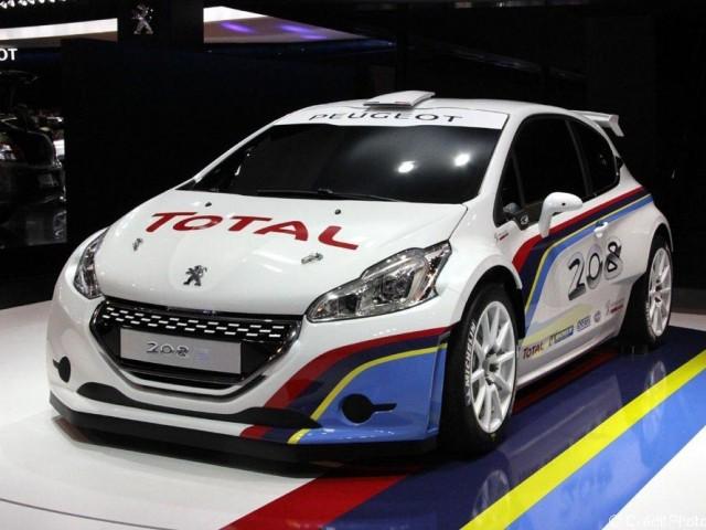 Mondial de l'Automobile 2012, Peugeot 208 Racing