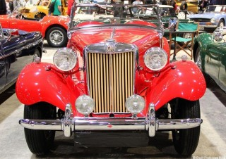 MG TD Midget 1953