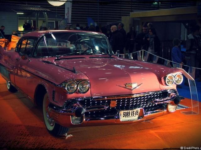 Cadillac sixty special fleetwood sedan hardtop 1958 – Foire de Lyon 2013