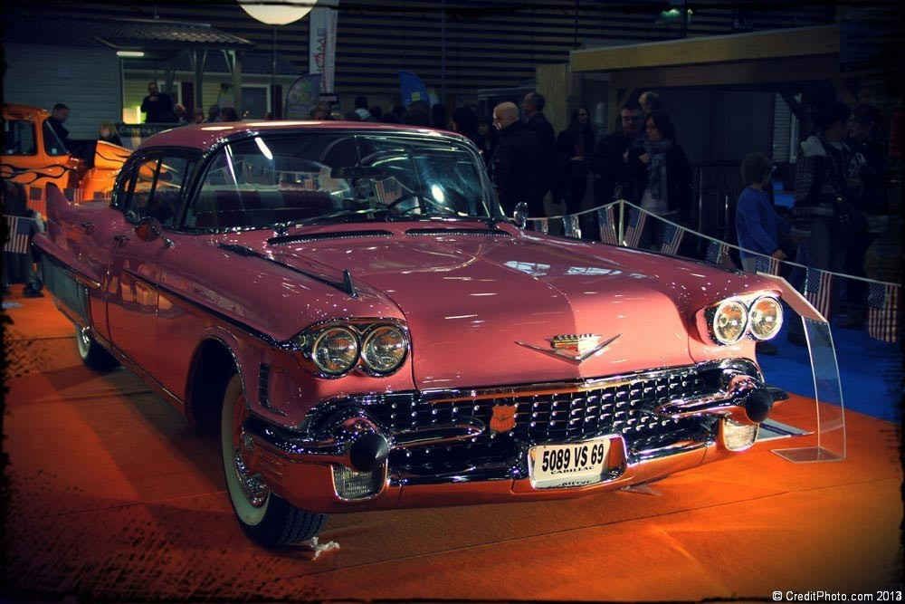 Photos d'autos américaines anciennes , années 1950 - 1960