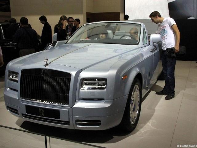 Rolls Royce Drophead Coupe Series II bleu