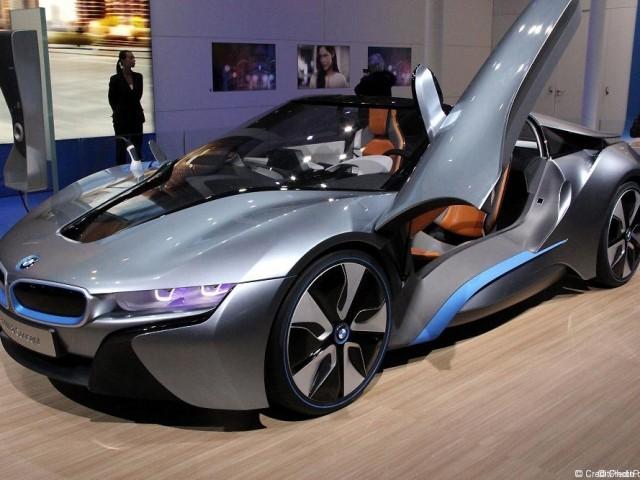 BMW i8 Concept – Mondial 2012