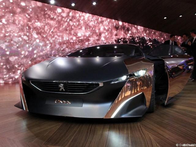 Onyx, Concept Car Peugeot – Mondial 2012