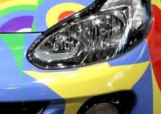 Optique phare Opel
