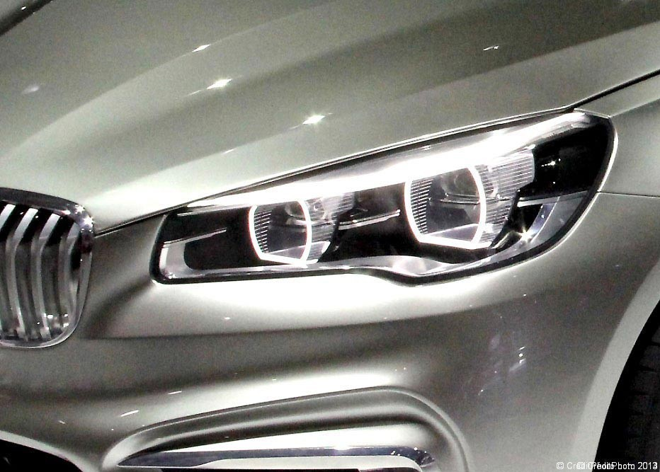 Optique phare BMW