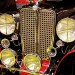 Auburn Speedster - zoom calandre
